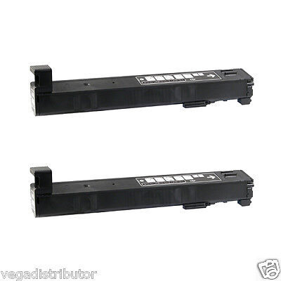 2 PACK BLACK TONER CARTRIDGE HP Color LaserJet Enterprise M855xh CF310A 826A