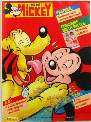 Le journal de Mickey n°1789 du 7 octobre 1986 - Mickeyrama Robot pétrolier