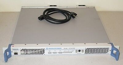 Rohde & Schwarz SX-800 TV Broadcast Exciter with Digital DTV Input Card