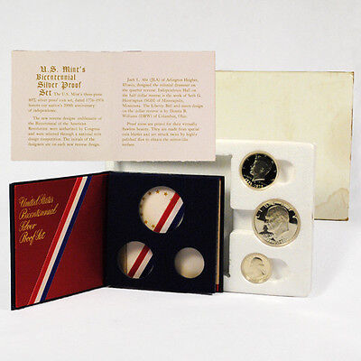 1976-S United States Proof 40% Silver Bicentennial Set In Mint Packaging SKU1422
