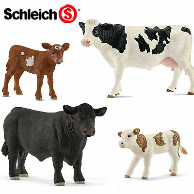SCHLEICH World of Nature Farm CATTLE - Choose for 14 different Cows all with Tag