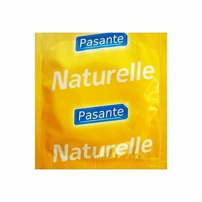 24 PASANTE Naturelle Natural Fit Latex Condoms CE  Genuine Discreet Condom Pack