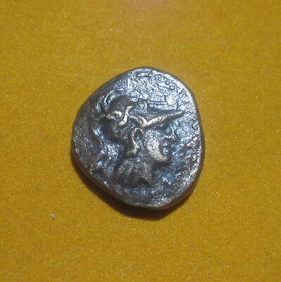 MACEDON Antigonos II Gonatas Athena/Pan Erecting Trophy  (AGP)