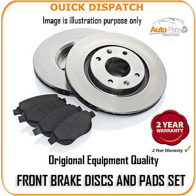 4140 Front Brake Discs And Pads For Dodge Nitro 2.8 Crd 7/2007-10/2010