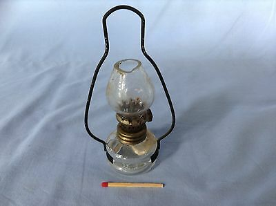 Collectable miniature hanging spirit lamp