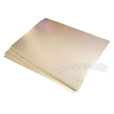5x Copper Clad Laminate Circuit Boards FR4 PCB Double Side 10cmx12cm 100mmx120mm