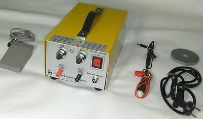 Pulse Sparkle Spot Welder Machine 200W Welding Necklace Gold Silver Platinum