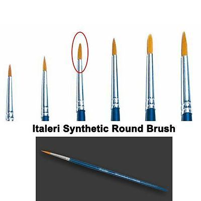 Italeri Model Tool - 3 Brush Synthetic Round - A51206 - New
