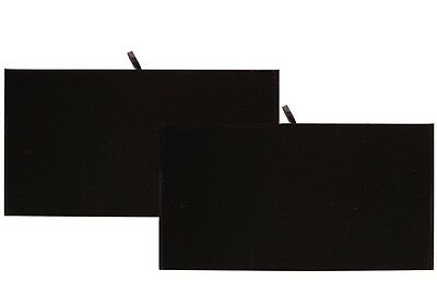 Lot Of 2 Presentation Flat Velvet Liner Drawer Liner Jewelry Full Tray Insert
