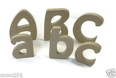 MDF Wooden Alphabet Letters & Numbers Hobo Font Various Sizes And Thicknesses
