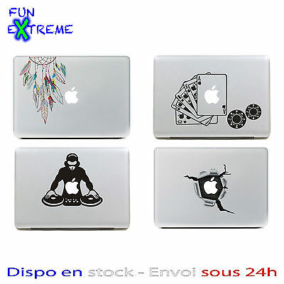 "Autocollant vinyl decal sticker pour Apple macbook air pro 13"" et 15 """