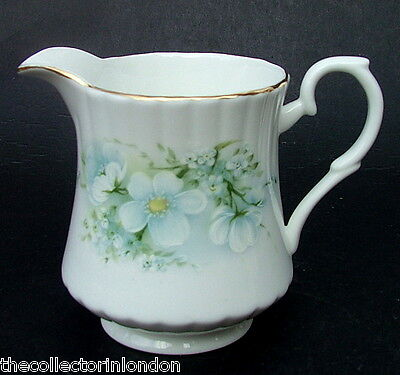 Vintage 1980's Royal Stafford Blossom Time Side Tea Size Milk Jug 9.5cmh in VGC