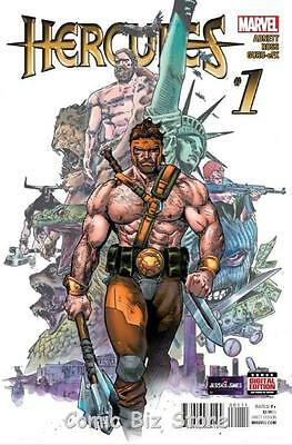 Hercules #1 (2015) 1St Printing Bagged & Boarded