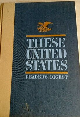 1968 Reader's Digest THESE UNITED STATES Atlas
