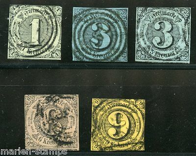 German States Thurn & Taxis Scott#42/4 Used