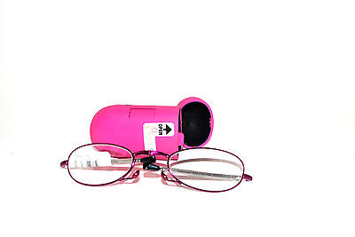 90c646d05d Foster Grant Folding Reading Glasses w Case   Mirror +2.00 Gwendolyn ...