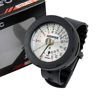 Aquatec Dive Console Depth Gauge Watch For Scuba Diving DG-700