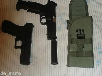 Russian OLIVE 6Sh112 MOLLE universal pistol holster