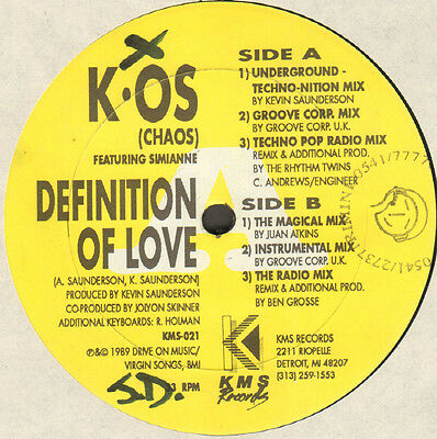 K.OS - Definition Of Love - Feat Simianne - KMS