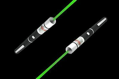 New 5mW 532nm 3A Green Laser Pointer Pen Astronomy Mid-open Visible Beam Light.