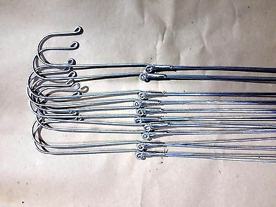 10 x Wires 4 Legs Hangers Orchid Vanda Flowers Baskets Garden  Plants Long 35""