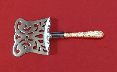 """Repousse by Kirk Sterling Silver Petit Four Server 6"""" HHWS  Custom Made"""