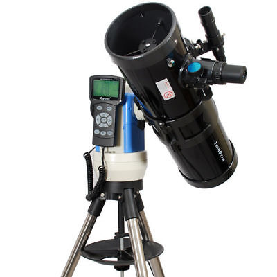 New Black 6in. Telescope w Advanced Computerized Star Finding and Extras - 280x