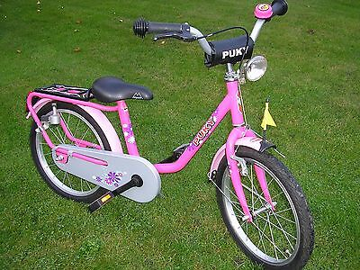 puky fahrrad rad kinderfahrrad z8 18 zoll farbe lovely pink. Black Bedroom Furniture Sets. Home Design Ideas