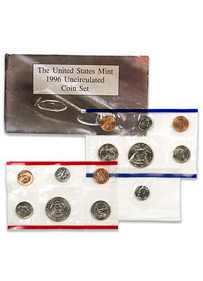 1996 United States US Mint Uncirculated Coin Set SKU1402