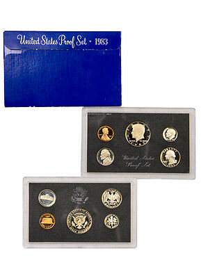 1983 United States US Mint Clad Proof Set SKU1429