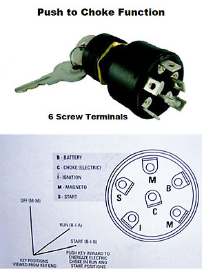 mercury outboard push to choke ignition switch replaces 87. Black Bedroom Furniture Sets. Home Design Ideas
