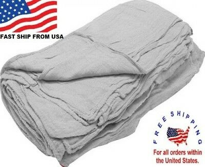 500 great american textile mechanics shop rags towels large jumbo bleach 13x14
