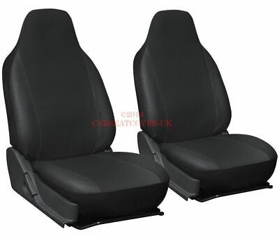 Vauxhall Combo - Heavy Duty Leatherette Van Seat Covers - 2 x Fronts