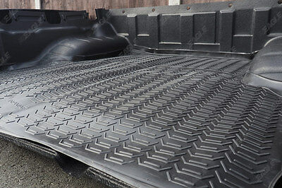 Nissan Navara D40 TECKNA Rubber Non Slip Boot Mat, Rubber Load Bed Liner Dog Mat