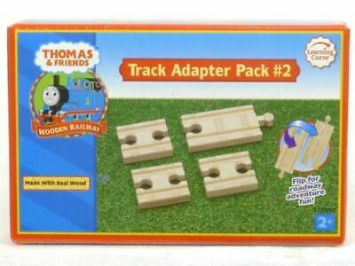 Thomas And Friends Track Adapter Pack #2 LC99921 Wooden Railway Learning Curve