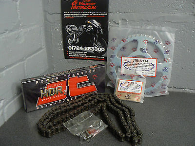 Honda Cbr 125R Chain And Sprocket Kit Heavy Duty 2011 To 2016