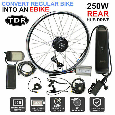 36V 350W Ebike Motor Hub Front Wheel Hub Cycle Electric Bicycle Conversion Kit