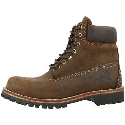 Timberland Earthkeepers Heritage Rugged Boots Stiefel Brown 9704B Premium Schuhe