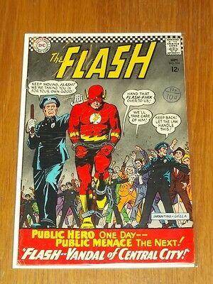 Flash #164 Fn- (5.5) Dc Comics September 1966