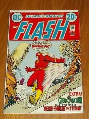 Flash #221 Vf (8.0) Dc Comics May 1973