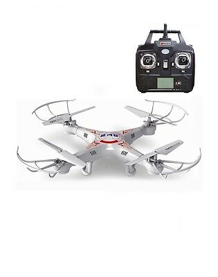 New Explorer X5 4 Channel 2.4GHZ 4 CH Quadcopter Aircraft Helicopter RC UFO