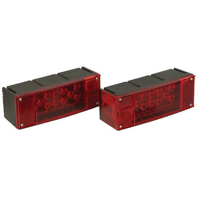 Optronics TLL-160RK Boat/Utility Trailer Led Low Profile Red Tail Light Kit