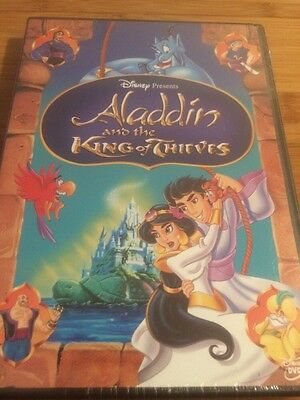 Aladdin and the King of Thieves (DVD, 2005) Brand New And Authentic