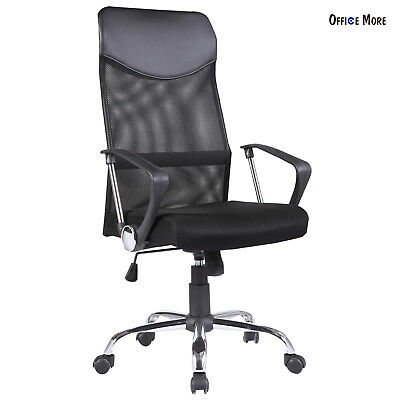 Modern Office Chair High Back Ergonomic Mesh Executive Computer Desk Task Black