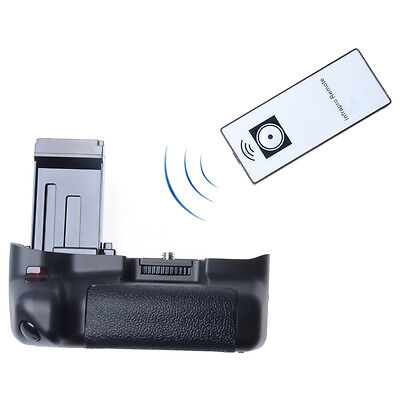 IR Remote Pro Digital Camera Vertical Battery Grip for Canon EOS 100D Rebel SL1