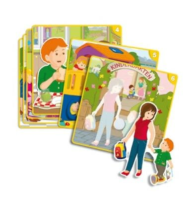 Good Morning Picture Matching Sequence Card Game Children Kids Toddlers Toy