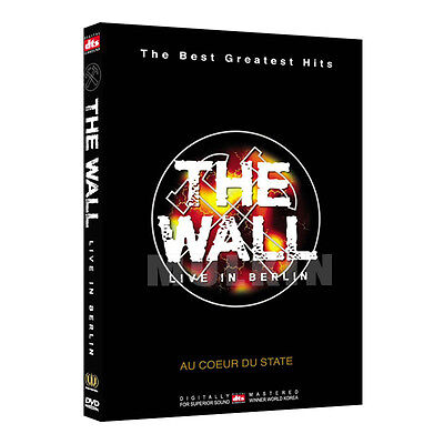 The Wall : Pink Floyd - Live in Berlin ROGER WATERS (1989) DVD - (*New / DTS*)
