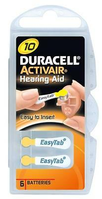Duracell Mercury Free Hearing Aid Batteries Size 10