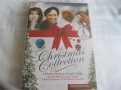 CHRISTMAS COLLECTION - 4 great films - Deck the halls/Hobo's Xmas..... NEW {DVD}