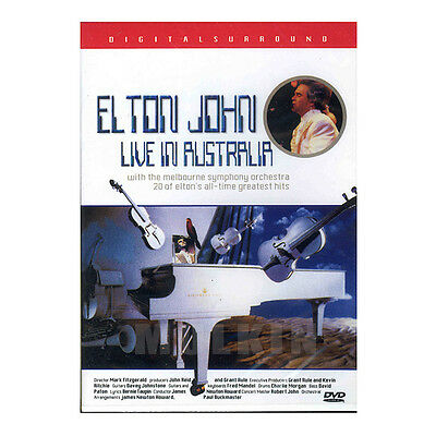 Elton John - Live in Australia (1987) DVD - (*New *Sealed *All Region)